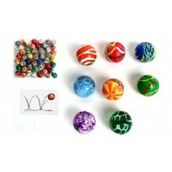 Lot 48 balles rebondissante(0.18€)