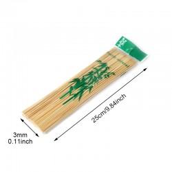 100 pics à brochettes en bambou