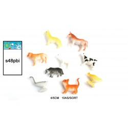 48 Animal Ferme 4/5 Cm(0.12€)