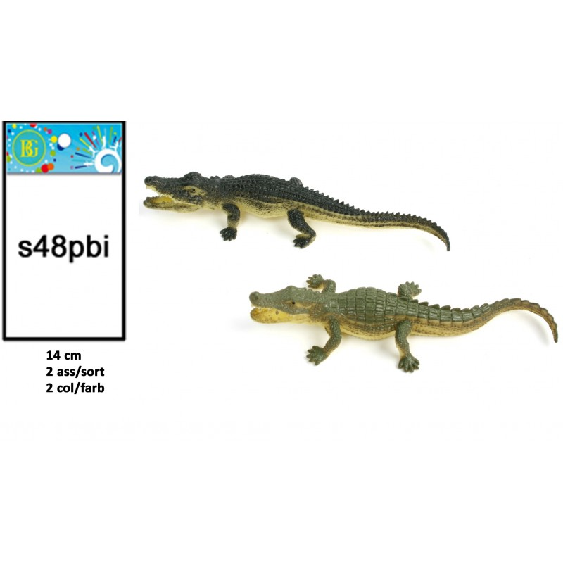 48 Crocodile 14 Cm(0.26€)