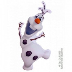 PERSONNAGE GONFLABLE OLAF