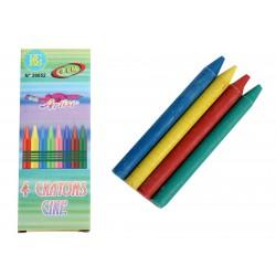 12 boites de 4 mini crayons cire(0.15€ ttc pièces)