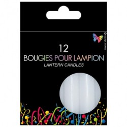 12 Bougies pour lampion